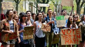 College divestment campaigns are creating a new generation of passionate environmentalists